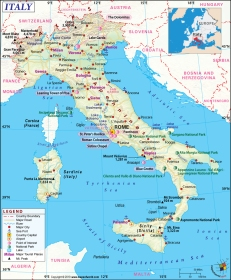 map-of-italy