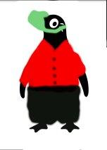 masked penguin